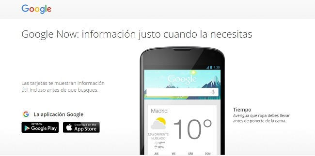 google now - voice marketing